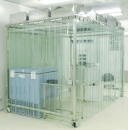 Phòng sạch di động cho hệ thống HVAC của phòng sạch cấp độ 100